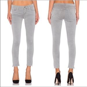 MOTHER | Looker Ankle Fray Jeans
